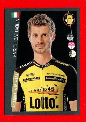 100° GIRO D'ITALIA -Panini 2017-Figurina-Sticker n. 268 - BATTAGLIN -LOTTO J-New