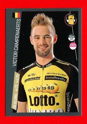 100° GIRO D'ITALIA -Panini 2017-Figurina-Sticker n. 270 -CAMPENAERTS-LOTTO J-New
