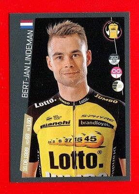 100° GIRO D'ITALIA -Panini 2017-Figurina-Sticker n. 276 - LINDEMAN -LOTTO J-New