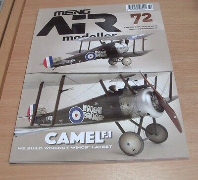 Meng AIR Modeller magazine #72 JUN/JUL 2017 Sopwith Camel, Short Sterling & more