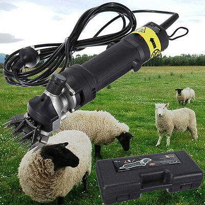 320W Electric Shearing Clipper Shear Sheep Goats Alpaca Farm Shears