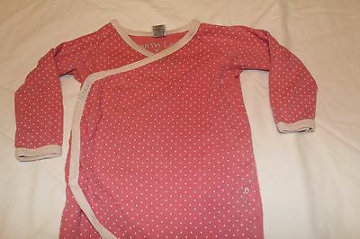 Bonds baby cotton coverall studs button up crossover size 1