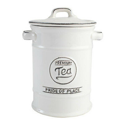 T&G Pride Of Place Tea Jar White
