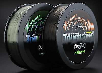 Korda Touchdown Sub Green / Brown Coarse Carp Match Fishing Line – All Sizes