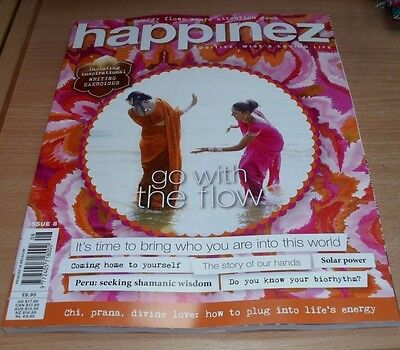 Happinez magazine #8 2017 Positive Wise & Loving Life: Peru, Solar Power & more