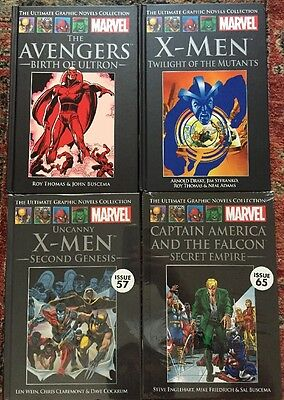 Marvel Ultimate Graphic Novels Collection. Classics. Bundle Of 4 Books.
