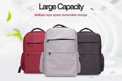 Large Multifunctional Baby Diaper Backpack Mommy Changing Bag Mummy Nappy