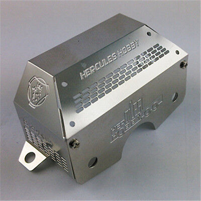 1:14 scale RC Truck stainless steel gear box rear cover(Scania) HH-UP0014 Tamiya