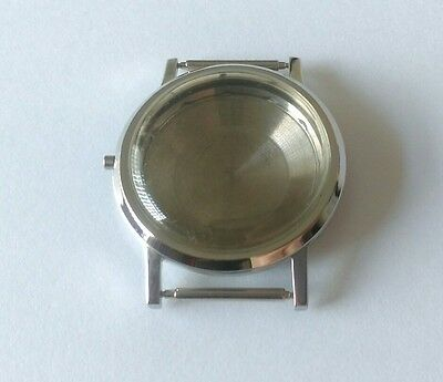 ETA 2472 Stainless Steel Watch Case & Glass, Swiss Made