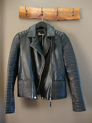 SALE!! Brand New Black Leather Jacket (size6-8) $750