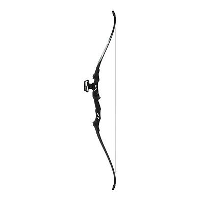 Powerful Adult 40lb Target Archery Take Down Recurve Bow Set Black Best Quality