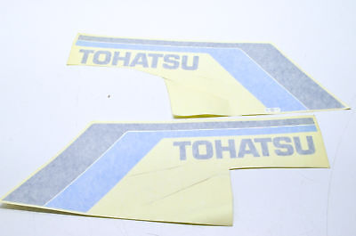 "New OEM Tohatsu Black & Blue ""Tohatsu"" Decal Kit NOS"