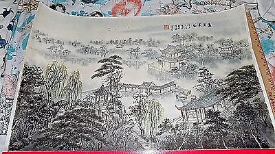 "Chinese Hanging Scroll ink On paper Painting ""Chen XueXin"" @ # 3"