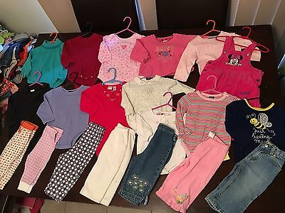 Baby Girls Size 6-12 Months Or 00-0 Clothes Winter 20 Items Lot 1 Oshkosh N More