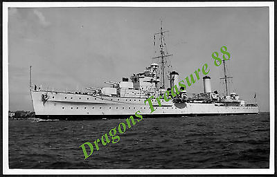 H.M.S. PENELOPE, Photo, Royal Navy Arethusa Class Cruiser 1935 - 1944