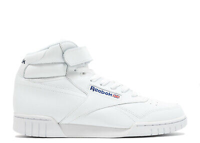Reebok Men's CLASSIC EX-O-FIT HI Shoes White 3477 a