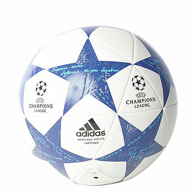 Adidas Ball Finale Football Real Madrid Capitano Champions League Soccer AP0390