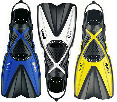 Mares X-one Short Lightweight Snorkel Fins Flippers - Perfect for Travel Holiday