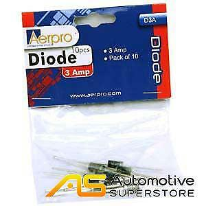 Aerpro D3A 3a diode pack of 10