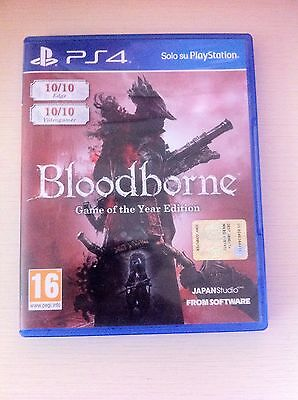 BloodBorne: Game Of The Year Edition Ps4 super affare
