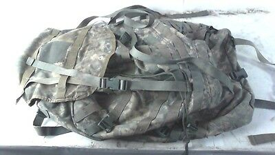 Molle II Lightweight Military Army Large Rucksack Backpack w/ Straps & Frame Set
