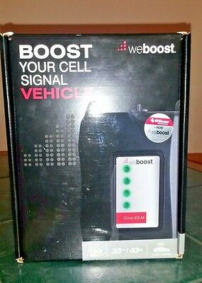New WeBoost (Wilson) 4G-M Cell Phone 4G LTE CAR WIRELESS SIGNAL BOOSTER VEHICLE