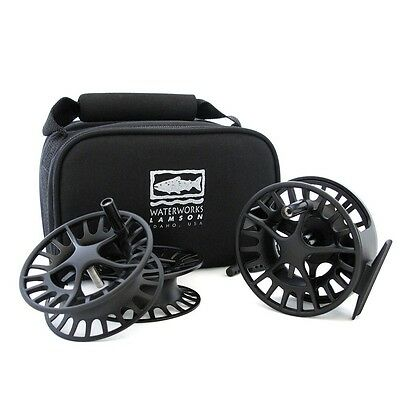Lamson Liquid 2 Fly Reel pack (Reel With 2 Extra Spools) #5/6 Size*****2017***