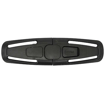 Car Safety Seat Latch Belt Clip For Baby / Child Black K6P7