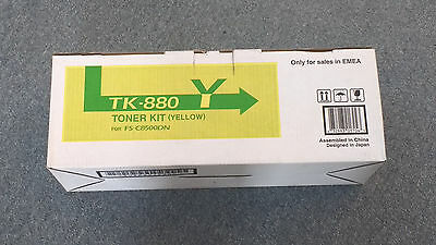 Kyocera Tk-880Y Yellow Toner Kit For Fs-C8500Dn Includes Vat