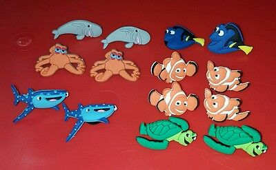 Finding NEMO / DORY CROC CLOG CHARMS