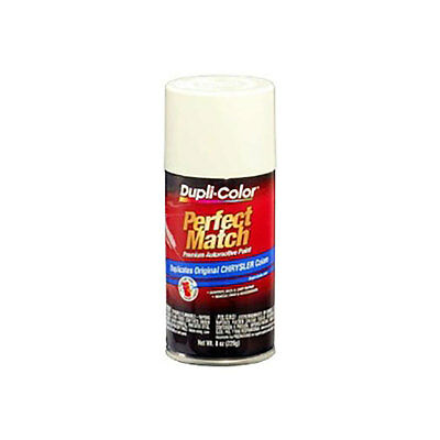 Perfect Match Automotive Paint, Chrysler Stone White, 8 oz Aerosol Can