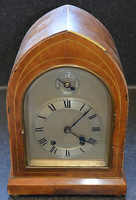 Antique / Vintage 8-Day Ting Tang Clock for Spares or Restoration (working)