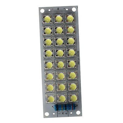 2W 24 LED DC 12V Panel White Bulb Lamp Car Auto Light T7Y9