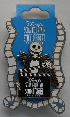 Disney Pin DSF Jack Skellington Director with Clapboard Pin New
