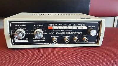 global specialties corporation 4001 pulse generator untested no power chord