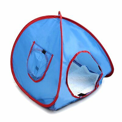 NEW Small Pop Up Camping Tent Small Animal Tent Rabbit Bed V2D6