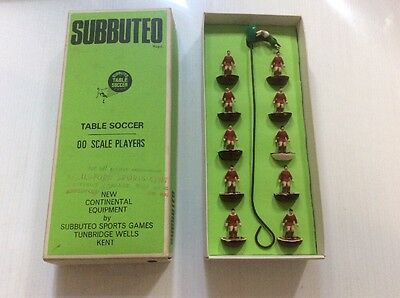 00 Scale Subbuteo Team - Liverpool