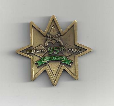 Commanders Challenge Coin Military 95th Police Super Stars