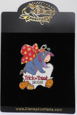 Disney Pin Disney Auctions Trick or Treat 2002 Eeyore As A Butterfly Pin LE100