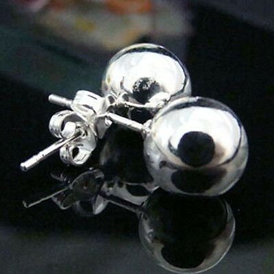 Hot Fashion Jewelry Charming Solid 925Silver Earrings Lady Trendy Gifts