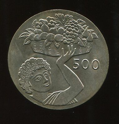 ** Cyprus 1970 (Yr.type) 500 Mils...low Minted 8O K. **