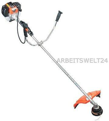 new! 2 in 1 PETROL 5,2 HP STRIMMER DEMON FREE CUTTER LAWN TRIMMER TRIMMER