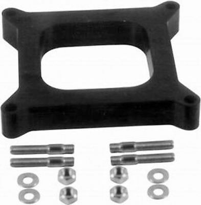 """Open Carb Spacer 4150 4160 Holley Carburetor 1/2"""" Phenolic Studs R9139"""