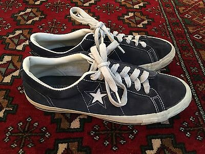 Vintage Made in USA Converse One Stars US 10.5 Black