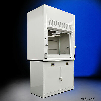 NEW 4' Laboratory Fume Hood WITH Epoxy Top and Cabinet NEW