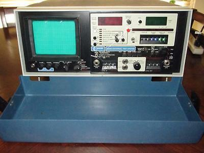 Vintage Halcyon 520B3 Universal Test System With Protective Lid