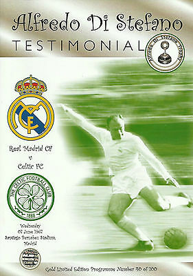 Real Madrid v Celtic - Alfredo Di Stefano Testimonial - 07 June 1967 - L@@K