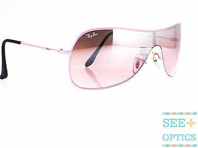 Ray Ban RB 3211 030/7E SMALL Pink metal, Pink gradient with silver mirror