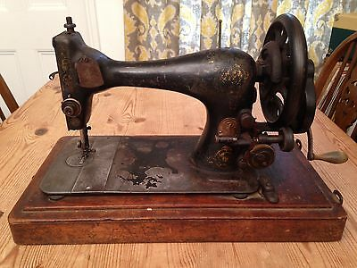 Rare Antique Singer Sewing Machine - Made in 1893