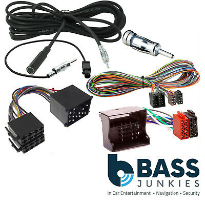 BMW X5 E53 1999 – 2006 Rear Car Stereo 5 Metre Wiring & Aerial Extension Kit